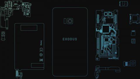 HTC exodus blockchain